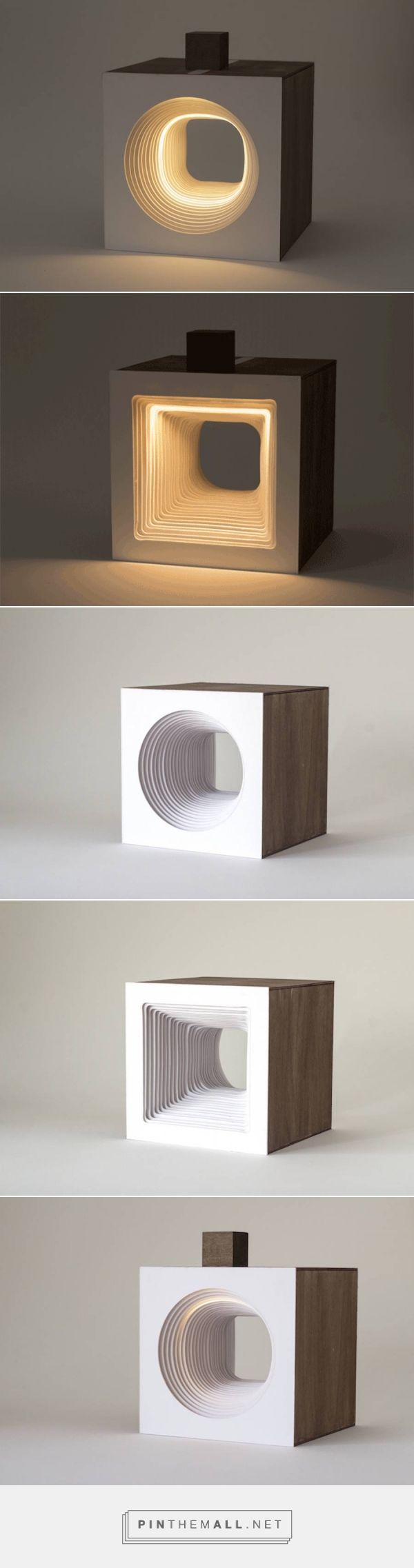 Sculptural Cube with Flowing Light – Fubiz Media... - a grouped images picture