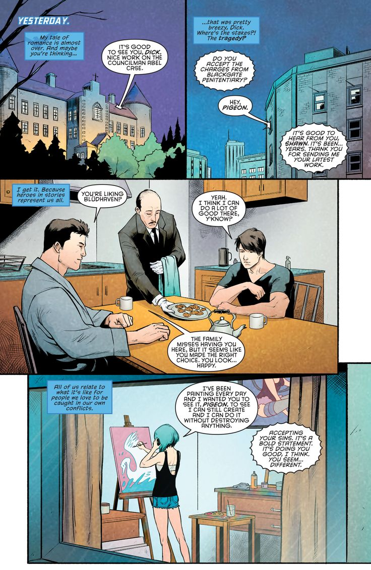 Blueprints for Delinquency: Nightwing #97-#98