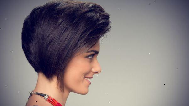 Gulliga korta frisyrer