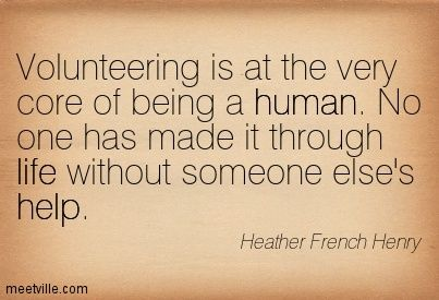 Motivational Monday: Thank You Volunteers! | Freedom Resource
