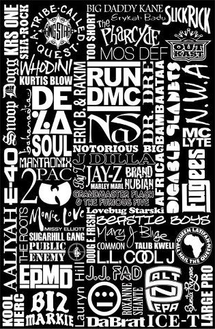Who's your favorite hip hop artist of all time? Too many listed here to choose. .