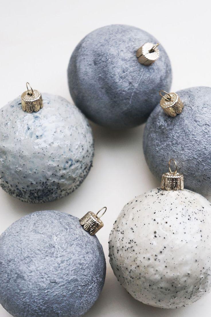 Die besten 25 weihnachtskugeln basteln ideen auf pinterest weihnachtskugeln deko basteln und - Weihnachtskugeln selbst gestalten ...