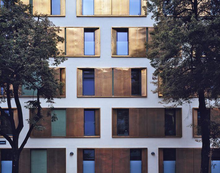 baumschlager eberle: Wohnungsbau<br>StudentInnenwohnheim Molkereistraße