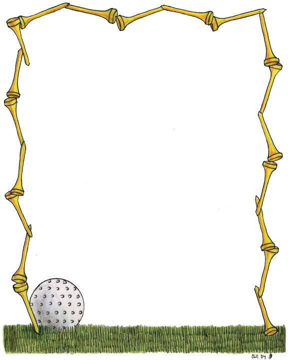 279 best clipart frames images on pinterest moldings for Fish food golf balls
