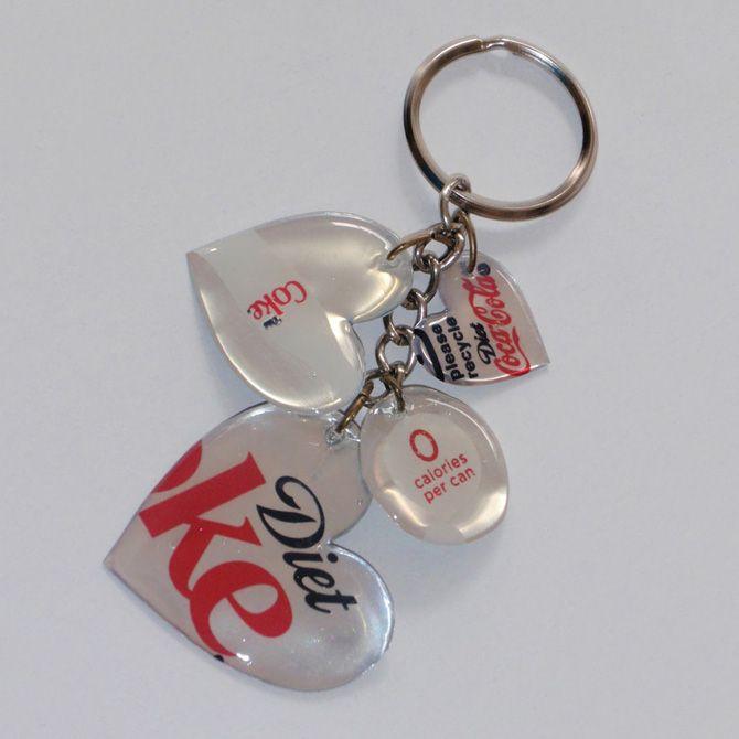 Créer un porte-clés dans un esprit récup - http://idee-creative.fr/creations-diy/diy-tutoriels-inspiration-source/idee-creation-web/creer-un-porte-cles-dans-un-esprit-recup/