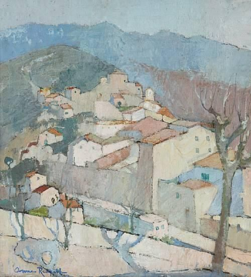 Anne Redpath, Cagnes