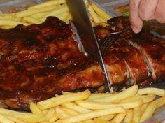 Capriche no almoço desse domingão e prepare essa costelinha com molho barbecue!! - Aprenda a preparar essa maravilhosa receita de Costelinha com molho barbecue (outback)