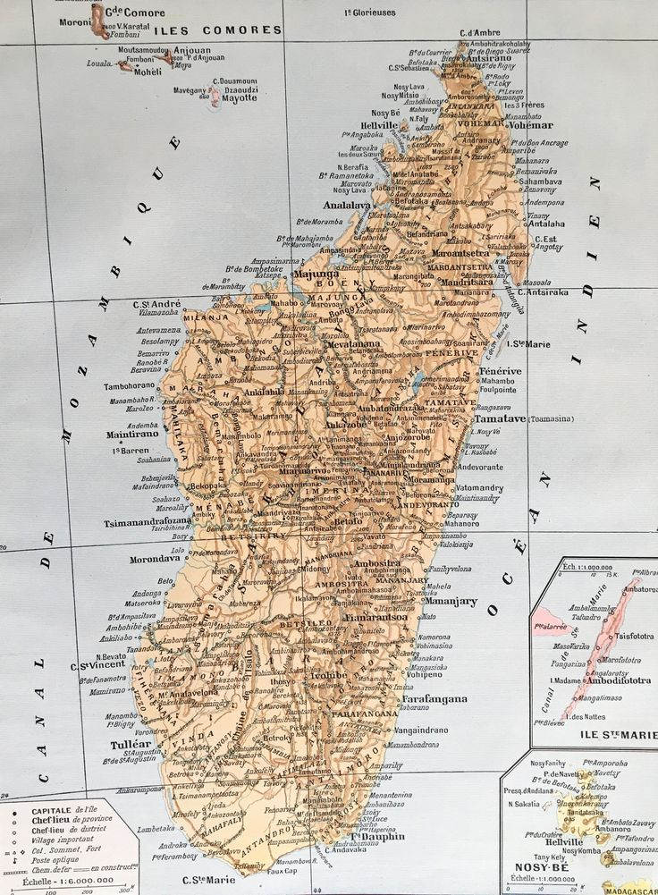 1904.MADAGASCAR.Mapa de Madagascar - Lámina a color.  31 cm. x 24 cm. de tramuntanaoldprints en Etsy https://www.etsy.com/es/listing/533831171/1904madagascarmapa-de-madagascar-lamina