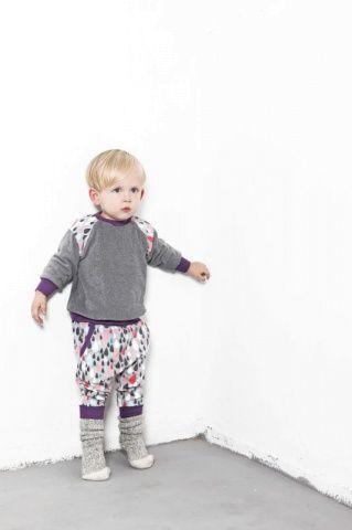 raindrops & sweatshirt | Lulu and the Pug | Autum/Winter 2013