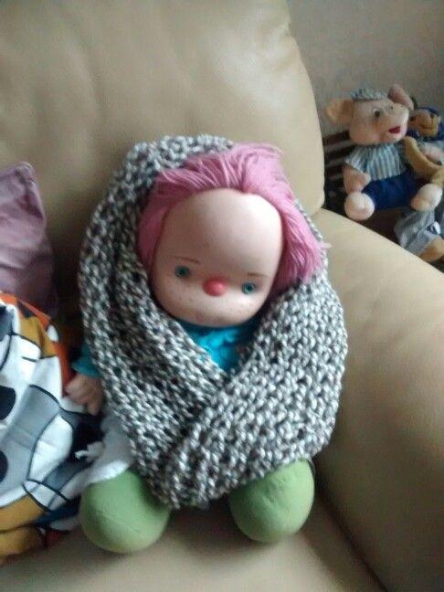Sjaal met oude wijvensteek