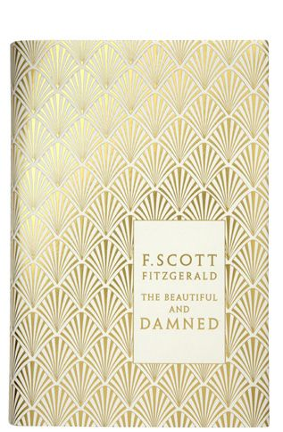 ❦ F. Scott Fitzgerald's The Beautiful and Damned, book cover design by Coralie Bickford-Smith (Penguin Books).
