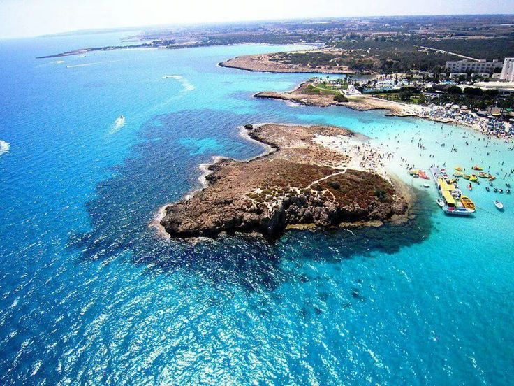 Ayia Napa from above