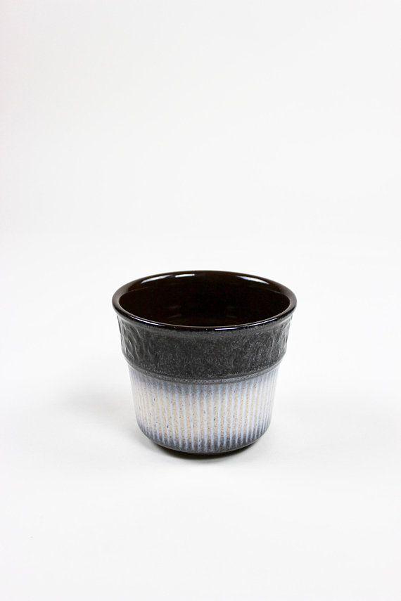 Kleiner Scheurich Blumentopf 809 11 Vintage Ubertopf Kakteen Sukkulenten Made In Germany 60er Jahre Ceramic Planter Ei Vintage Keramik Blumentopf Vintage
