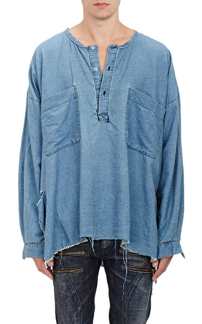 Get Into the Oversized Shirt Trend                                                                                                                                                                                 More