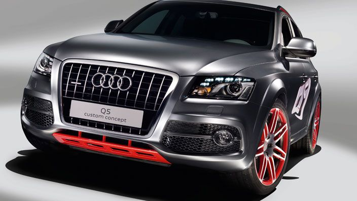 Audi Q5 custom concept > Design Studies > Audi India - Q5 audi