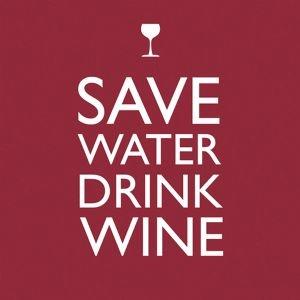 Save Water Beverage Napkin