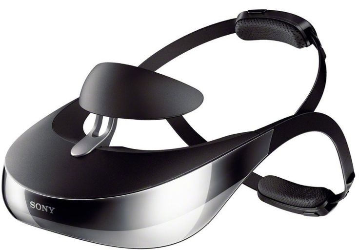 Sony HMZ-T3 Head Mounted 3-D Viewer