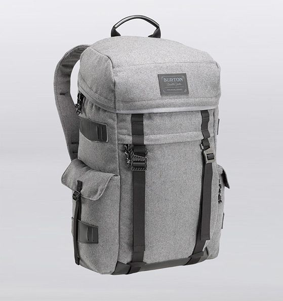 Burton Annex Wool + Leather Backpack | Rushfaster.com.au