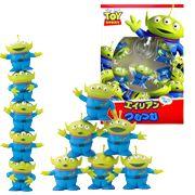 Japan Disney PIXAR Licensed Toy Story Little Green Alien Jenga Tower Game.  #ricepower #toystory #buzzlightyear #woody #disney #pixar
