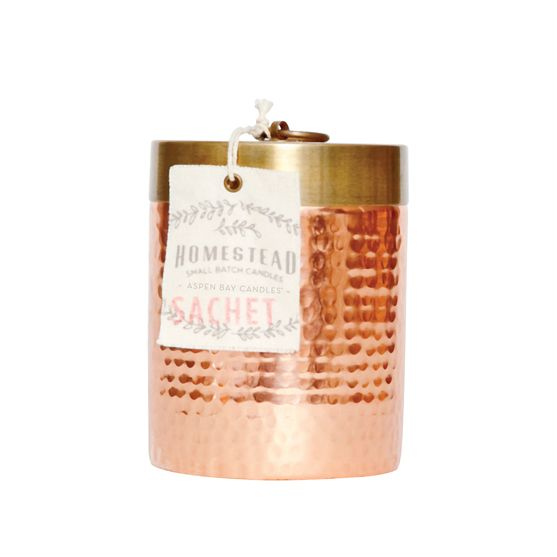 Aspen Bay Candles | Hammered Canister