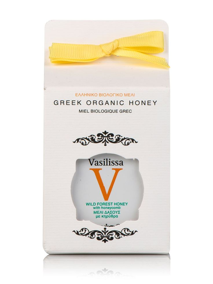 "Pure Honey with Honeycomb ""Vasilissa"" 8.8oz"