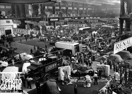 PARIS  SALON DE LAUTOMOBILE 1946 Salon de lautomobile 1946 Paris Grand Palais  Automobile