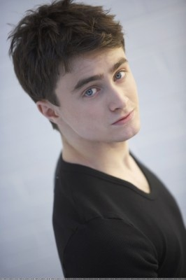 Daniel Radcliffe- he actually doesn't look too bad in this one. ;o)