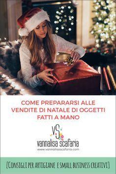 Come prepararsi alle vendite di Natale di oggetti fatti a mano