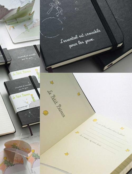 Moleskine limited edition Le Petit Prince collection