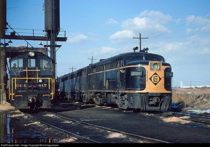 RailPictures.Net Photo: EL 7381 Erie Lackawanna Alco FA-2 at Secaucus, New Jersey by miningcamper