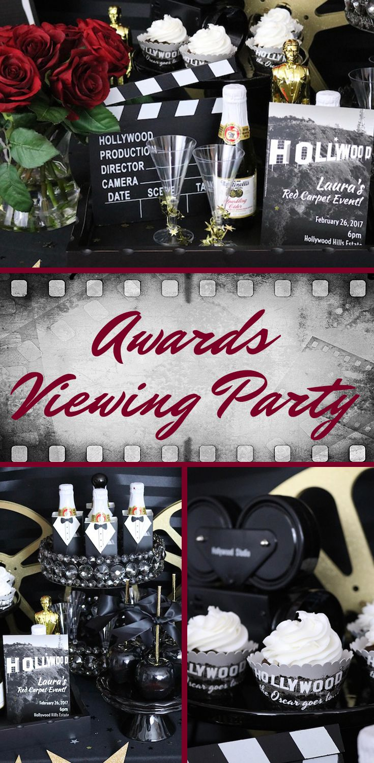 Birthday gift bags 5 cooking for oscar - Lights Camera Party Host An Old Hollywood Viewing Party To Watch All The