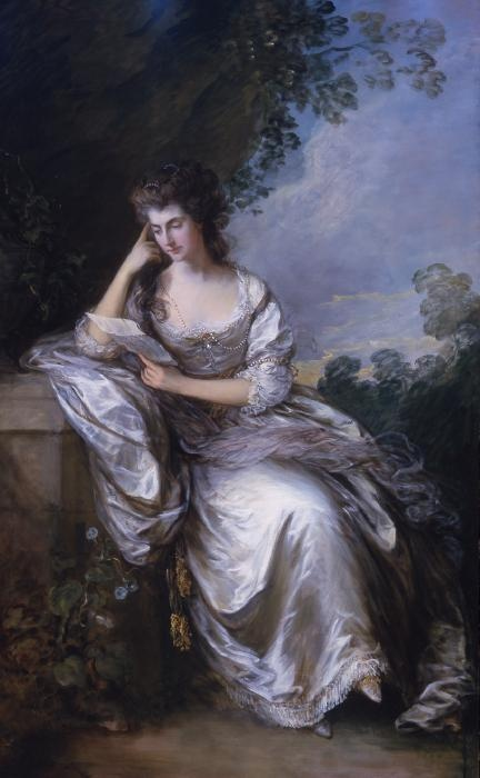 Mrs John Douglas (Frances Browne) by Thomas Gainsborough, 1783-1784
