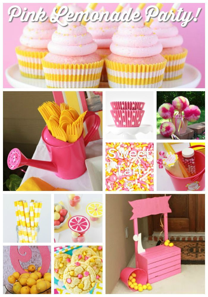 Pink Lemonade Party Ideas Pink Lemonade Party Supplies Pink