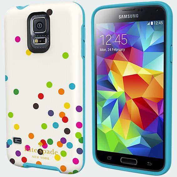 kate spade new york Flexible Hardshell Case for Samsung Galaxy S 5 - Confetti | Verizon Wireless - Verizon Wireless