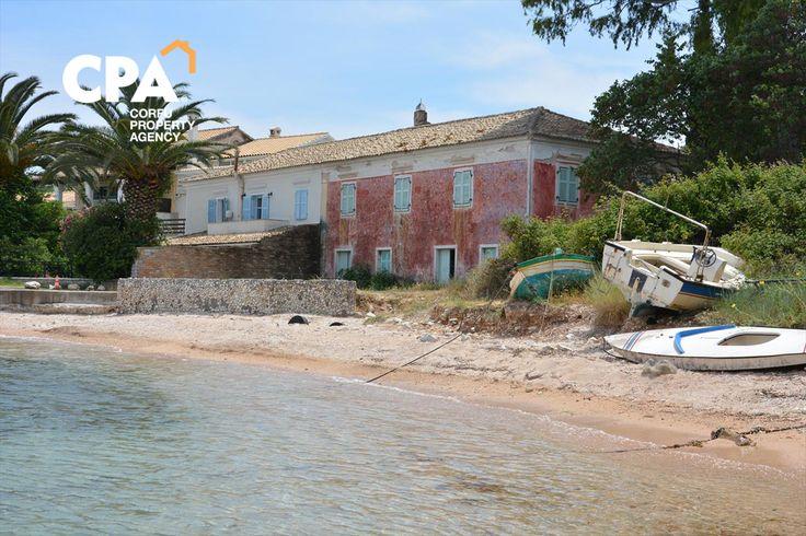 Sea front property for sale in Kogevina bay, Kassiopi Corfu-CPA 3664 From: http://cpacorfu.com/en/properties/3664