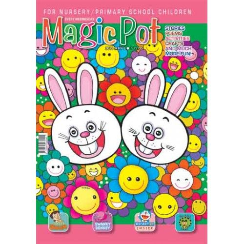 In this vacations gift Magic Pot to your children. Magic Pot is a fun-filled #Magazine for nursery and primary school #children. Packed with stories, rhymes, activities, games, crafts and much more fun, Magic Pot will not only keep the child  entertained, but also will help develop many vital skills. Magic Pot is a great aid for parents, too. It is a great source for fresh stories, poems and ideas. Get 30% discount now-->