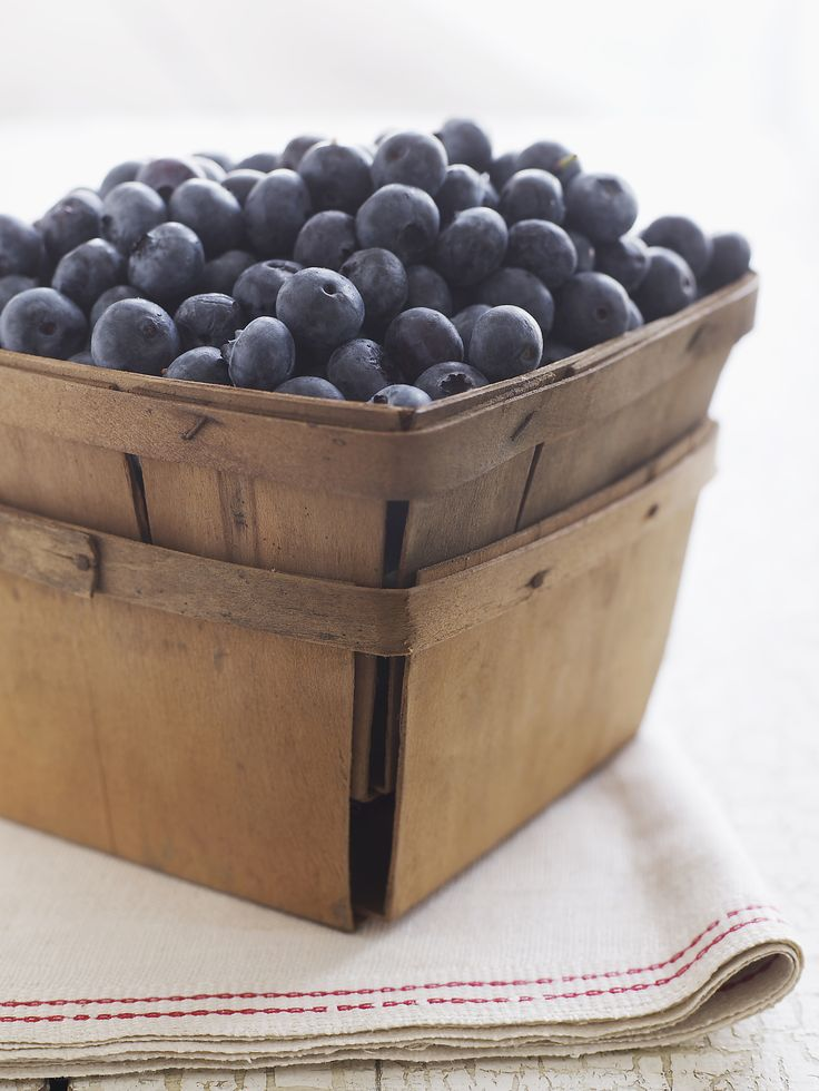Eat Baskets of Blueberries  Not only are blueberries an antioxidant powerhouse, but also, they've been shown to play a role in reducing belly fat — say goodbye to that muffin top! Blueberries are loaded with anthocyanin, which has been shown to alter the activity of genes found in human fat cells, making it more difficult to put on weight. I bet you can't wait to make one of these healthful blueberry recipes now.