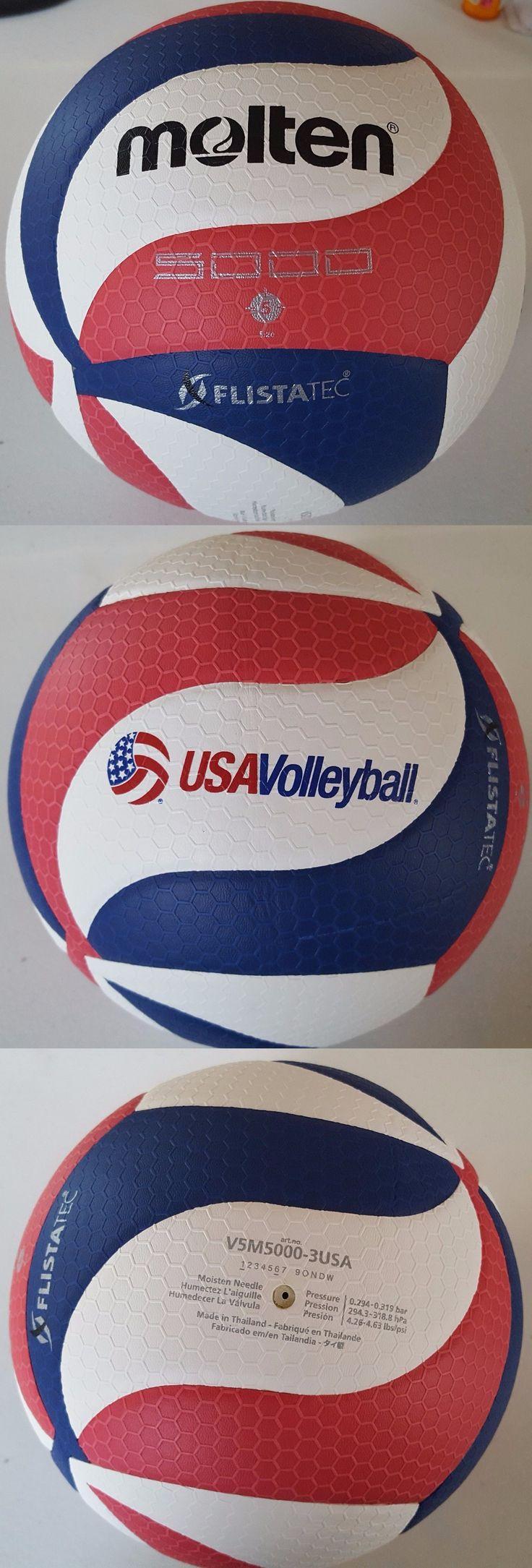 Volleyballs 159132: Molten Flistatec Volleyball - Official Volleyball Of Usa Volleyball, Red/Whit... -> BUY IT NOW ONLY: $62.99 on eBay!