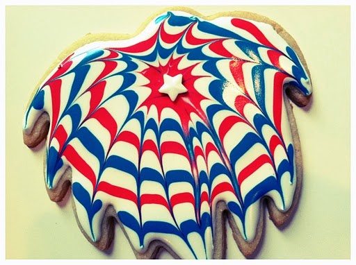 Firework Cookies. | Recipes I want to try | Pinterest