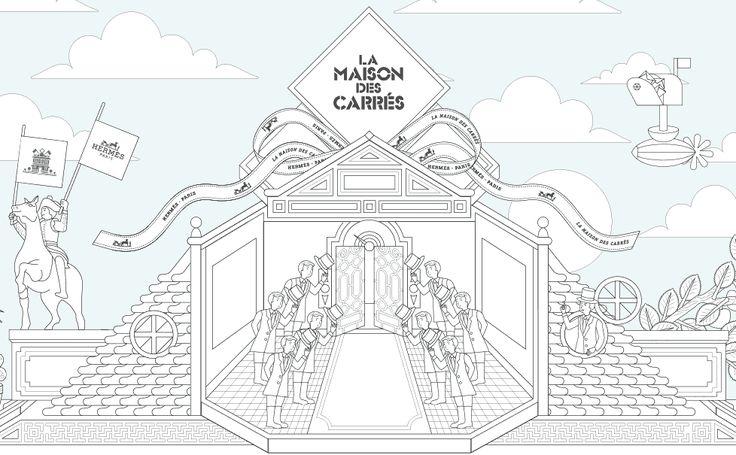 Commandez en ligne dès aujourd'hui le produit Les Confessions sur la boutique officielle  Hermès - La Maison des Carrés - et offrez vous le plaisir d'une boîte orange Hermès.