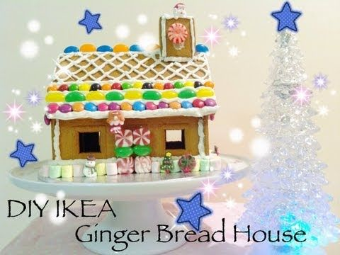 DIY IKEA Ginger Bread House
