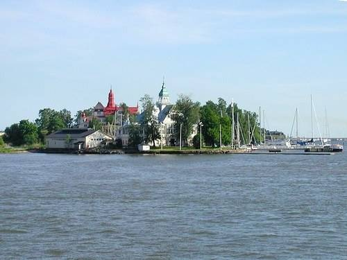 Port Island in Finland