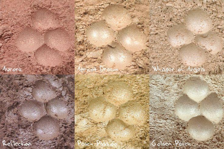 Pigmenty mineralne pochodzą ze sklepu: www.kolorowka.com