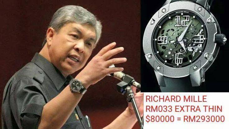 Gambar jam tangan mewah ahli politik - MyWatch - http://malaysianreview.com/116790/gambar-jam-tangan-mewah-ahli-politik-mywatch/