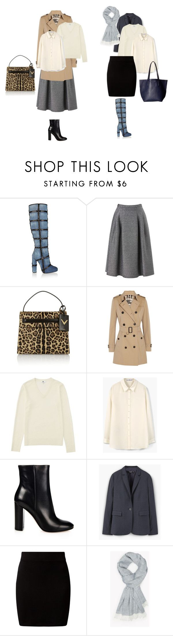 """""""сумка и сапоги Ксения"""" by dark-cashmere ❤ liked on Polyvore featuring Tom Ford, Phase Eight, Valentino, Burberry, Uniqlo, MANGO, Gianvito Rossi, New Look, Theory and Marc Jacobs"""