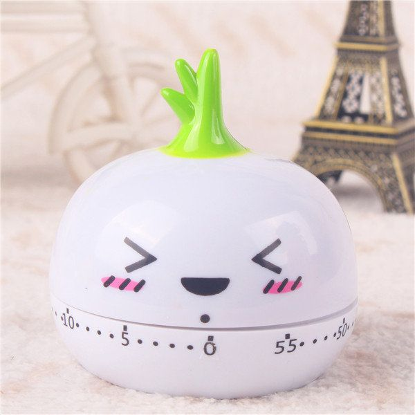 Cute Fruit Vegetables Style Cartoon Kitchen Timer Alarm Clock Cooking Tools Kitchen Accessories