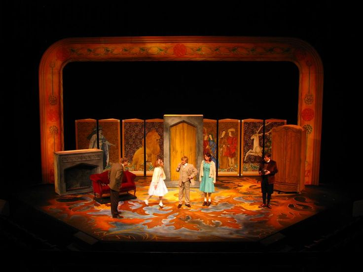 Scenic Designer's Sketchbook: Some Pictures for The Lion, the Witch, the Wardrobe Tech