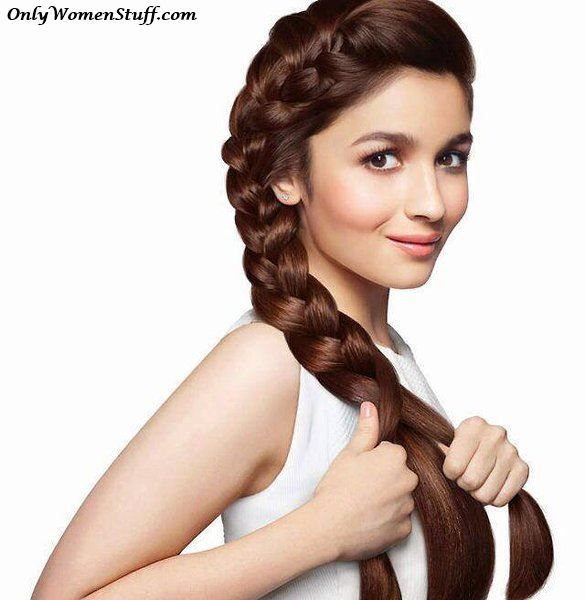15 Easy Hairstyles For Girls Simple Step By Step Pictures Alia