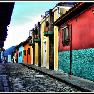 Colombian streets