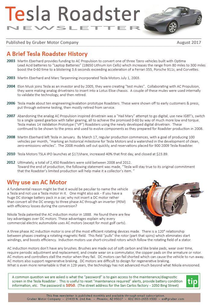 Best Tesla Roadster Newsletter Images On   Tesla